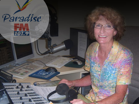 Marilyn Perkins of Paradise FM